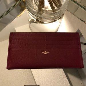 Authentic LOUIS VUITTON wallet slip pouch felicie