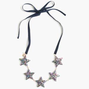 Crewcuts Girls' glitter star necklace
