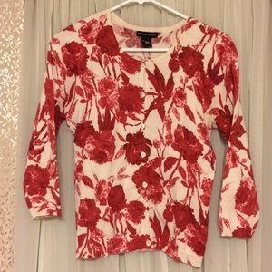 New York & Company 3/4 sleeve cardigan small