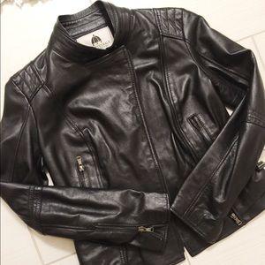 Jackets & Blazers - Italian Lamb Skin Leather Jacket