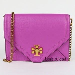 Tory Burch Kira Cross Body Bag - Bright Orchid