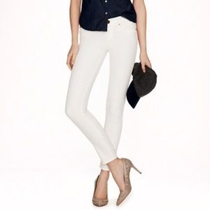 J. Crew Superskinny Toothpick Jean in White