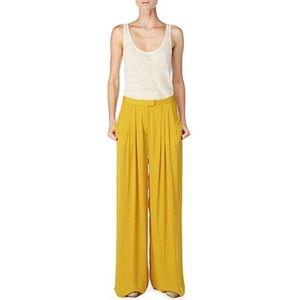 Rag & Bone Yellow Racine Wide Leg Pant
