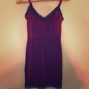 Dresses & Skirts - Velvet Slip Dress