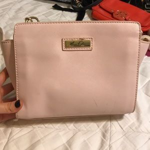 Marc Fisher pale pink Crossbody purse