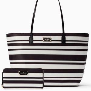 Kate Spade ♠️ Stripes Bag 😍♠️