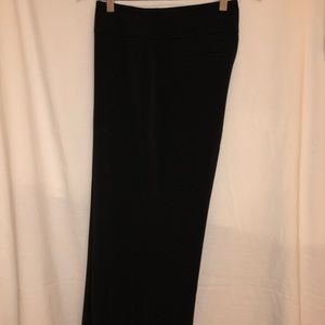 Style & Co black wide leg trouser pants