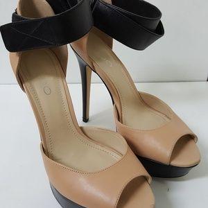 Aldo Sz 8 Open Toe High Heels