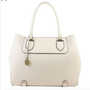 London Fog Camila Unlined Tote | Ivory