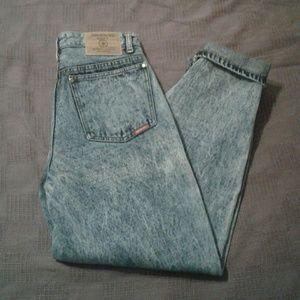 Acid Wash Frosted Jordache Vintage Jeans