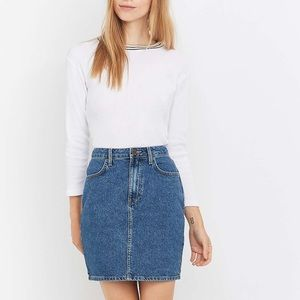 Urban Outfitters BDG Denim Straight Mini Skirt