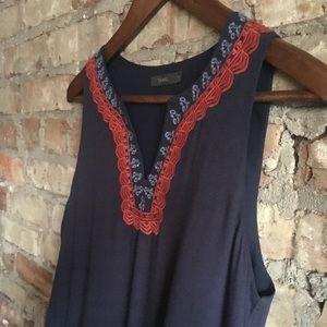 THML Blue Tunic Dress