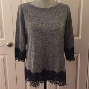 Pretty Lace Sweater