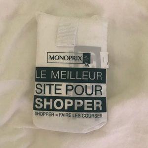 Monoprix reusable bag