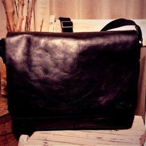 LEVI'S  Leather Messenger Bag