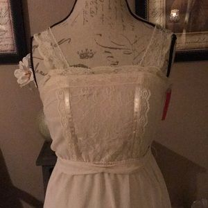Great buy. Brand new lace dress