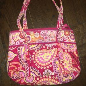 Pink Paisley Vera Bradley Bag