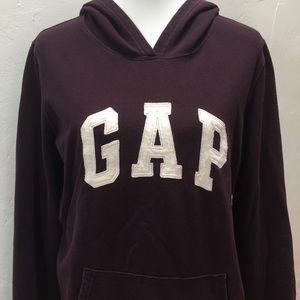 GAP Dark Purple Sweatshirt Hoodie