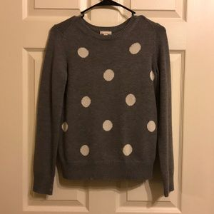 Gap Polka Dotted Sweater!