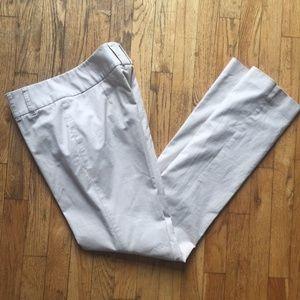 Worth Tan Straight Leg Cotton Pants