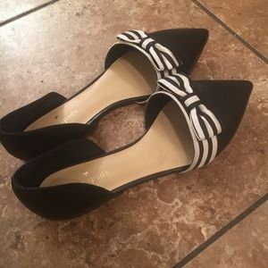 KATE SPADE d'Orsay pointed toe flat