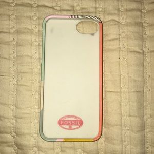 Fossil silicone iPhone 5 case