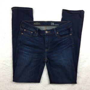 J.Crew Dark Wash Matchstick Skinny Jeans Stretch