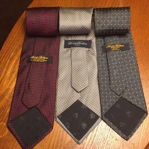 Brook Brothers silk ties