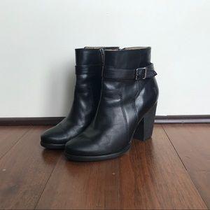 Black Frye heeled ankle boots