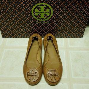 SALE:TORY BURCH Leather Sandal