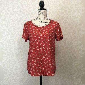 Gap Sheer Droptail Shirt