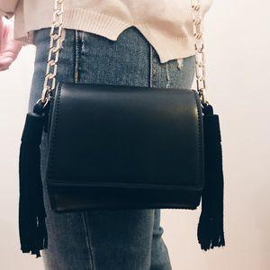 Zara tassel purse