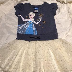 Frozen tutu dress. Size 3t