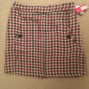 Burgundy mini skirt from Target