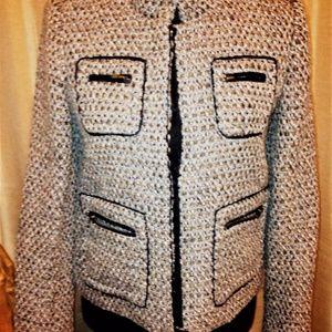 J.Crew Wool Blend Tweed Lined Jacket
