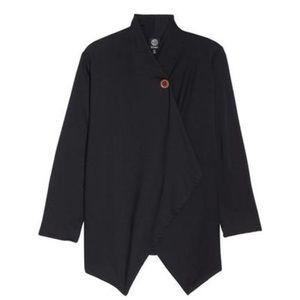 Sweaters - Bobeau One-Button Fleece