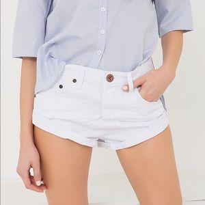 White One Teaspoon Shorts!