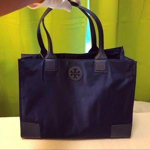 💙 Tory Burch navy blue shoulder bag
