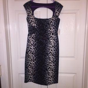 Jessica Simpson cheetah dress
