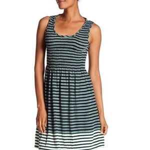 "MAX STUDIO ""Striped"" For & Flare Dress (S)"