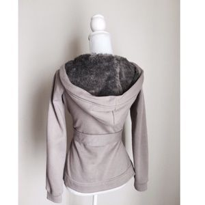 Fur Lined Cardigan