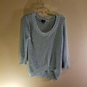 RUE21 light blue sweater