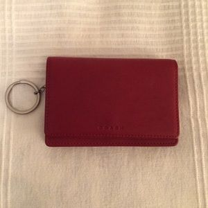 Coach Red Small Wallet