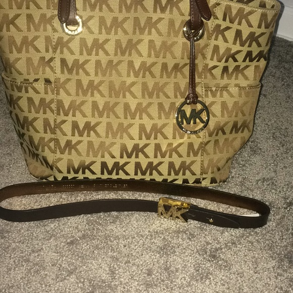 Michael Kors Accessories - Brown Michael Kors Belt Medium