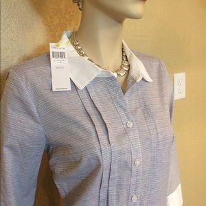 BCBG Generation Drop Waist Shirt Dress w/Tags