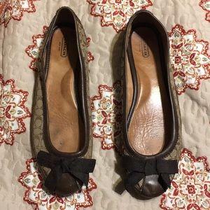 Coach shoes size 10