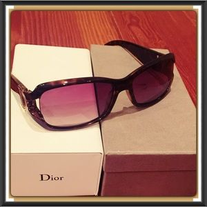 Authentic Dior designer sunglasses