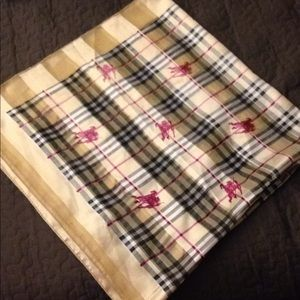Burberry HUGE SILK scarf