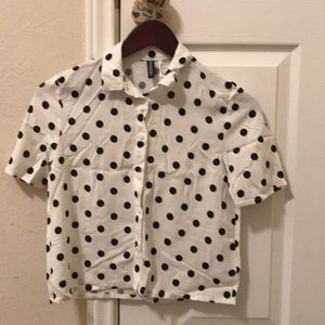 H&M Collared Blouse