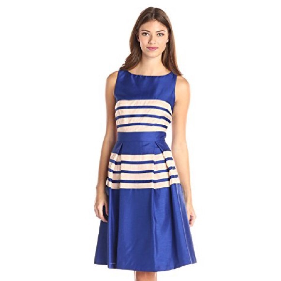 575f049b7b4 Just Taylor Dresses   Skirts - EUC Like New Royal Blue Just Taylor Cocktail  Dress